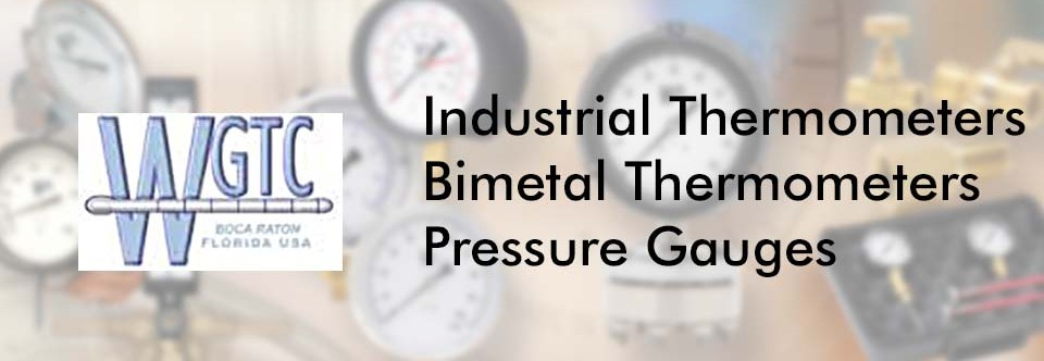 Industrial Thermometers | Pressure Gauges