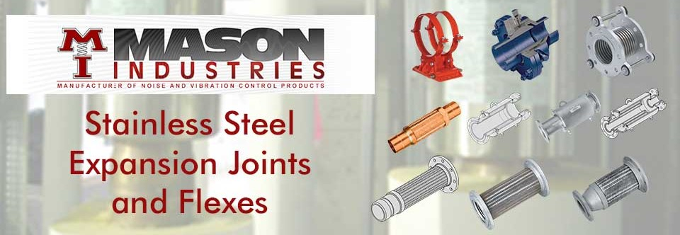 Stainless Steel Expansion Joints | Mason Atlanta | GA